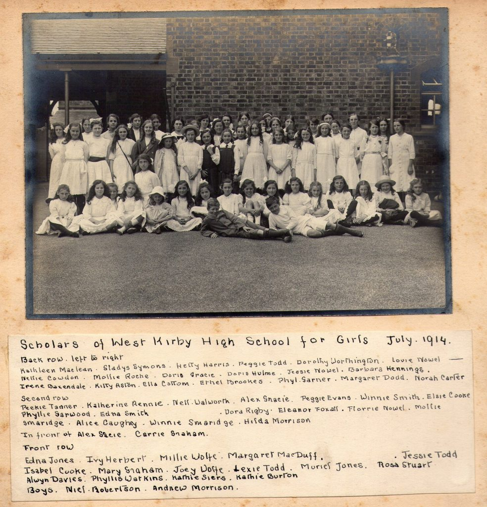 West Kirby High School 1914