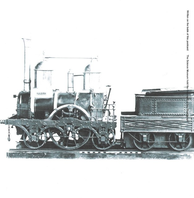 Model 2-2-2 passenger loco built by Clarke's Strand, London about 1840.